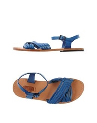 Local Apparel Sandals Blue