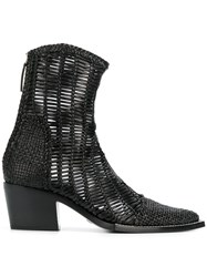 Alyx Woven Boots Black