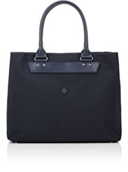 Cledran Men's Deux Trava Shopper Tote Bag Navy