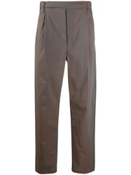 Christophe Lemaire Straight Leg Tailored Trousers 60