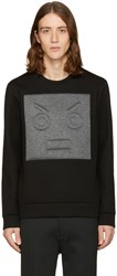 Fendi Black Patch Pullover