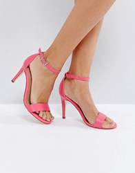 Call It Spring Ahlberg Pink Heeled Sandal Pink