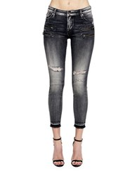 Cult Of Individuality Skinny Fit Ankle Length Jeans