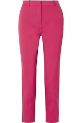Emilio Pucci Wool Twill Tapered Pants Pink