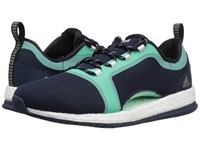 Adidas Pure Boost X Tr 2 Collegiate Navy Core Black Easy Green Women's Cross Training Shoes Blue