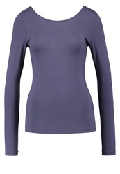 Noisy May Nmmance Long Sleeved Top Ombre Blue