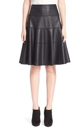 Women's Rebecca Taylor Faux Leather A Line Skirt