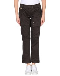 Moschino Jeans Trousers Casual Trousers Women Dark Brown