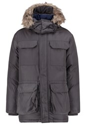 United Colors Of Benetton Down Coat Anthracite