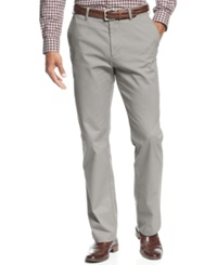 Haggar Straight Fit Wrinkle Free Performance Pants Ash
