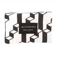 Pattern Guild Screen Printed Line Pattern Coin Purse