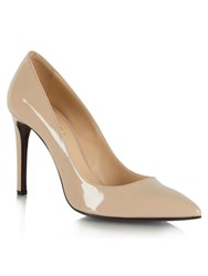 Daniel Modest Patent Pointed Court Shoes Seasoned Pink