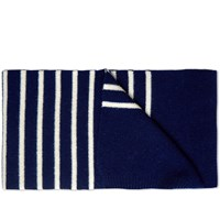 Norse Projects Nautical Scarf Blue