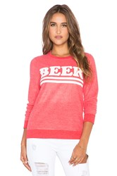 Chaser Beer Sweatshirt Red