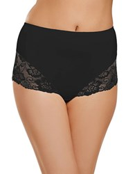 Jockey Slimmers Lace Shaping Brief Black