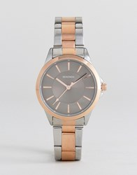 Sekonda 2456 Bracelet Watch In Mixed Metal Silver Gold