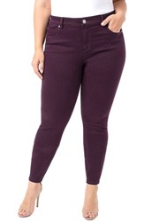 Liverpool Plus Size Abby Skinny Jeans Rich Velvet