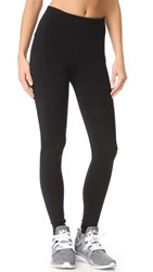 David Lerner Seamed High Rise Leggings Classic Black