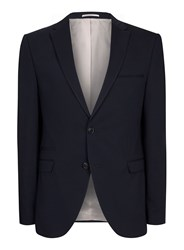 Selected Blue Homme Navy Textured Blazer