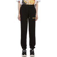 Versace Jeans Couture Black Logo Lounge Pants