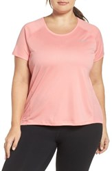 Nike Plus Size Women's Dry Miler Top Bright Melon Bright Melon
