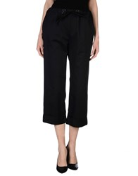 Roberto Collina Trousers Casual Trousers Women Dark Blue
