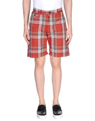 Franklin And Marshall Bermudas Red