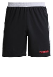 Hummel Nostalgia Sports Shorts Black Grey Melange