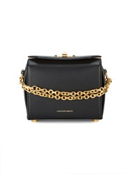 Alexander Mcqueen Box Bag Shoulder Bag Women Leather Metal One Size Black