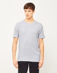 Only And Sons Poulper Fitted Fishtail T Shirt White