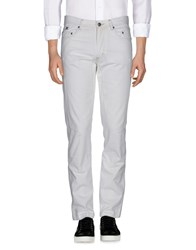 Jaggy Jeans White