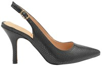 Ravel Kinney Slingback Court Shoes Black