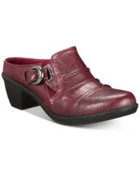 Easy Street Shoes Calm Mules Berry