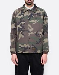 Wtaps Windbreaker Jacket Woodland Camo
