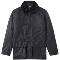 Barbour Seven Beattock Wax Jacket Blue