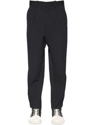 Marni Oversized Wool Gabardine Pants