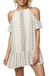 O'neill Landon Cold Shoulder Dress Naked