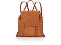 Il Bisonte Men's Convertible Backpack Nude