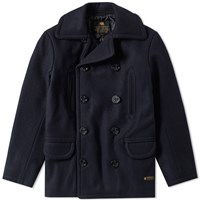 Neighborhood Wool Peacoat Blue