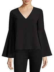 Cooper And Ella Marcela Bell Sleeve Top Black