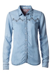 Tommy Hilfiger Huey Denim Shirt Blue