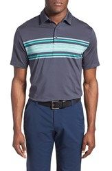 Men's Under Armour 'Playoff' Short Sleeve Polo Stealth Grey