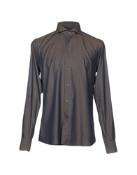 Angelo Nardelli Shirts Dark Blue