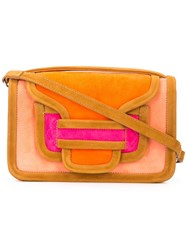 Pierre Hardy Alpha Shoulder Bag Orange