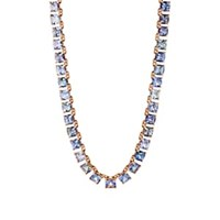 Nak Armstrong Tile Necklace Blue