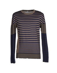 Aimo Richly Knitwear Jumpers Men Dark Blue