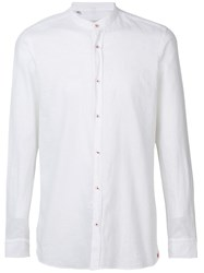 Manuel Ritz Round Neck Shirt White