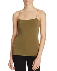 Alexander Wang T By Strappy Cami Tank Army