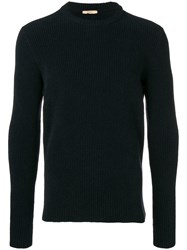 Nuur Round Neck Jumper Blue