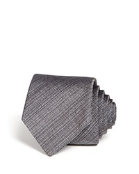 Theory Roadster Hitchin Shiny Twill Skinny Tie Eclipse